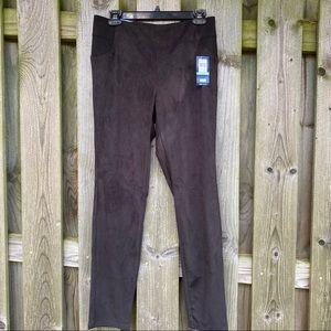 Bandolino Selene Pull-On vegan suede stretch pants